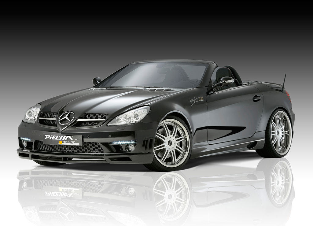 Piecha Design Mercedes SLK RS Face Lift to Piecha Design Mercedes SLK RS