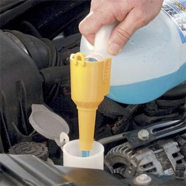 Adding Windshield Washer Fluid How to Check Windshield Washer Fluid Level