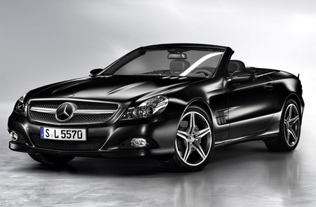 Mercedes SL Night Edition1 Mercedes SL Night Edition Launched In Australia
