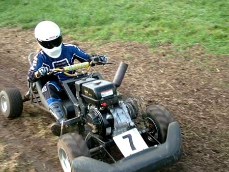 Racing Lawn Mower How to Build a Racing Lawn Mower