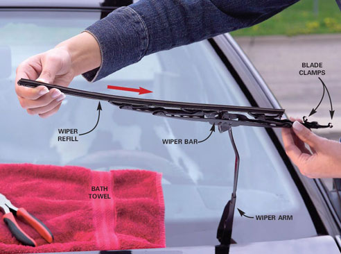 Replacing Windshield Blade How to Replace Windshield Wiper Blades