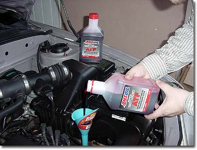 Automatic Transmission Fluid How to Replace Automatic Transmission Fluid