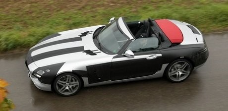 Mercedes SLS AMG Roadster Spied: Mercedes SLS AMG Roadster