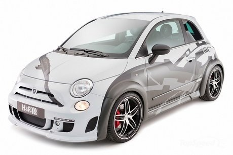 2010 Fiat 500 2010 Fiat 500 by Hamann & H&R