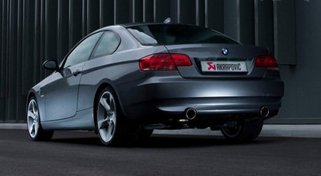 BMW 335 BMW 335i gets a Meaner Sound with an Akrapovic Exhaust