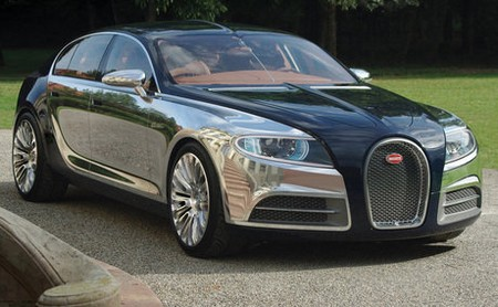 Audi A8 Bugatti's future sedan to be built on Audi A8 platform