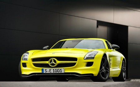 Mercedes Benz SLS E Cell Prototype 1 Mercedes Benz SLS E Cell Prototype