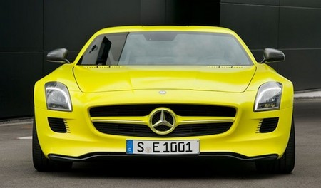 Mercedes Benz SLS E Cell Prototype Mercedes Benz SLS E Cell Prototype